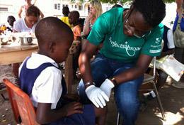Vrijwilligerswerk in Ghana: Geneeskunde project