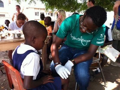 Vrijwilligerswerk groepsreis jongeren in Ghana