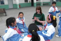 Tijdens de sociale groepsreis voor jongeren organiseer je leerzame activiteiten voor jongeren in China.
