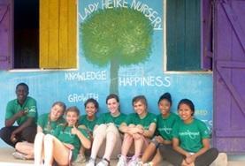 Als groep vrijwilligers kun je veel werk gezetten op het sociaal & samenleving project in Ghana.
