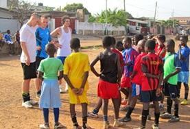 Vrijwilligerswerk in Ghana: Sport