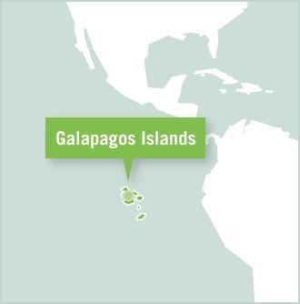 Kaart van Ecuador