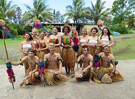 Vrijwilligers in Fiji