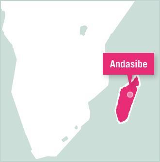 Kaart van Madagaskar