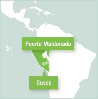 Kaart van Peru