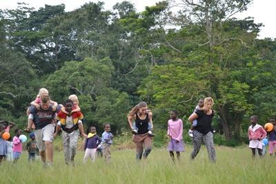 Vrijwilligerswerk als gezin in Ghana