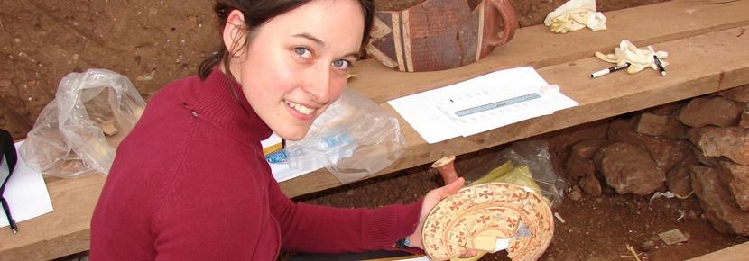 Vrijwilligerswerk bij een acheologie project