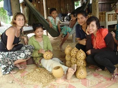 Vrijwilligerswerk bij een cultuur project