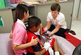Gezondheidszorg vrijwilligerswerk in het buitenland: Ergotherapie project