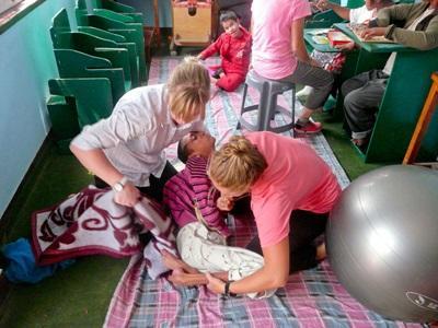 Vrijwilligerswerk fysiotherapie project in Nepal