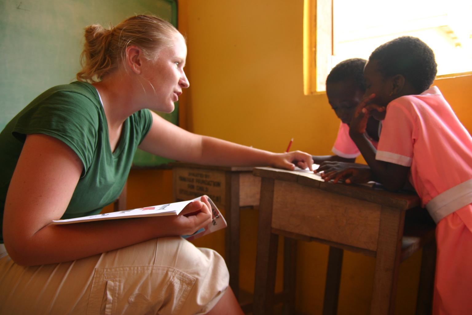 Vrijwilligerswerk logopedie project Ghana