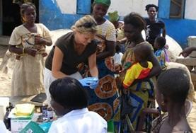 Help kinderen in Ghana bij de verbetering van hun gezondheid tijdens het Public Health project.