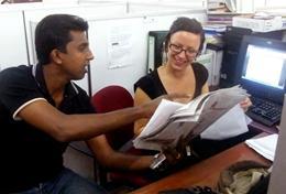 Vrijwilligerswerk in Sri Lanka: Journalistiek