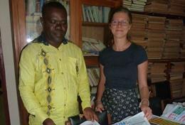 Werk samen met lokale journalisten in Togo en doe nuttige ervaring op binnen de journalistiek.