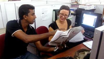 Vrijwilligerswerk Sri Lanka journalistiek