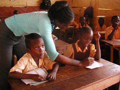 Vrijwilligerswerk lesgeef project in Ghana
