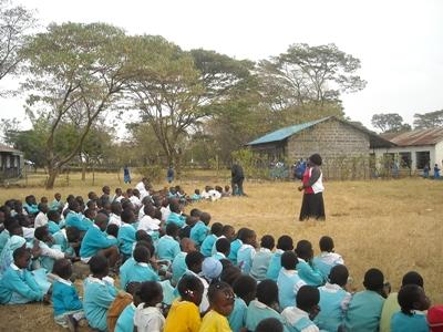 Vrijwilligerswerk lesgeef project in Kenia