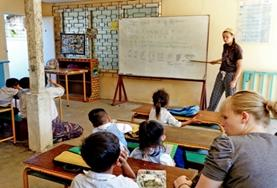 Vrijwilligerswerk in Cambodja: Lesgeven