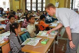 Vrijwilligerswerk in Vietnam: Lesgeven