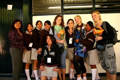 Lesgeven op een school in Mexico