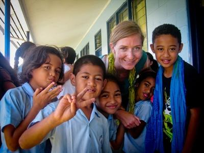 Vrijwilligerswerk lesgeef project op Samoa