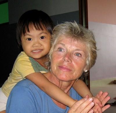 Ergotherapeut als vrijwilliger in Cambodja