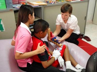 Vrijwilligerswerk ergotherapeut in Cambodja