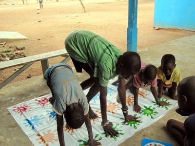 Ergotherapie vrijwilligerswerk in Ghana
