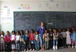 Sta als ervaren leraar wetenschappen voor de klas in Ethiopië.