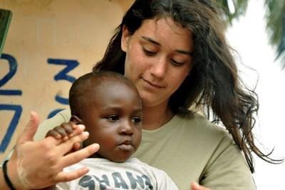 Sociaal werker in Ghana