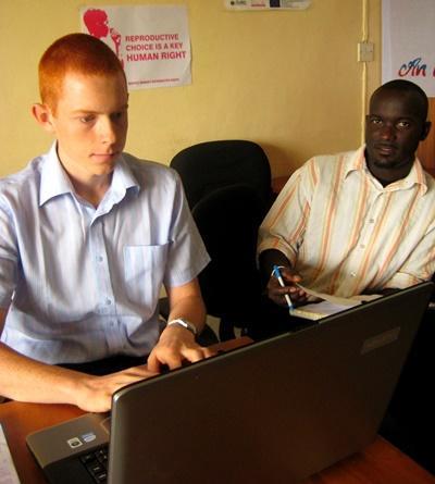 Mensenrechten project in Ghana