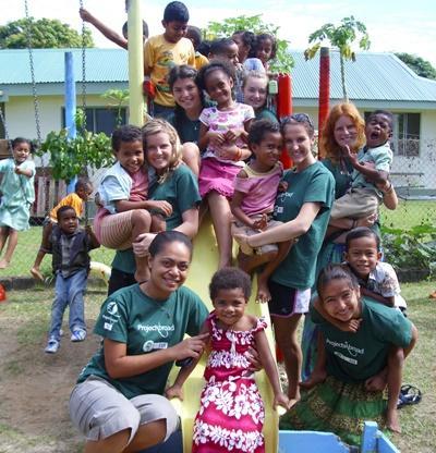 Vrijwilligerswerk met kinderen