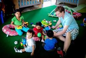 Als vrijwilliger op dit sociale project werk je met kinderen op een kleuterschool in Ecuador.