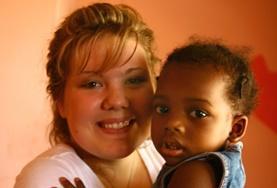 Als vrijwilliger op een sociaal project in Jamaica werk je onder andere met kinderen op scholen voor speciaal onderwijs.