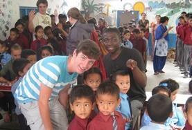 Sociaal vrijwilligerswerk met kinderen in het buitenland: Nepal