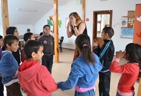Sociaal vrijwilligerswerk met kinderen in het buitenland: Roemenië