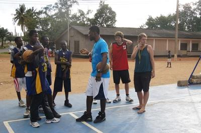 Vrijwilligerswerk basketbal project in Ghana