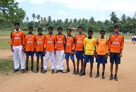 Als vrijwilliger ben je betrokken bij de teambuilding en sportwedstrijden tijdens gymlessen in Sri Lanka.