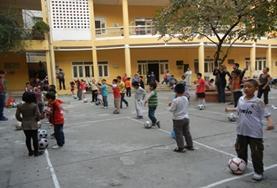 Vrijwilligerswerk in Vietnam: Sport