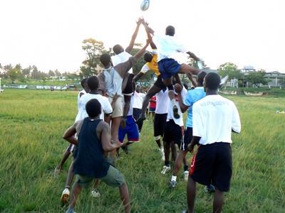 Vrijwilligerswerk rugby project in Ghana