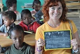 Een taalcursus Frans in Madagaskar geeft je de mogelijkheid om een nieuwe taal te leren van lokale onderwijzers.
