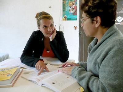 Een taal leren als vrijwilliger
