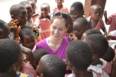 Leer meer over de cultuur en bevolking van Ghana tijdens de twintigersreis Public Health.